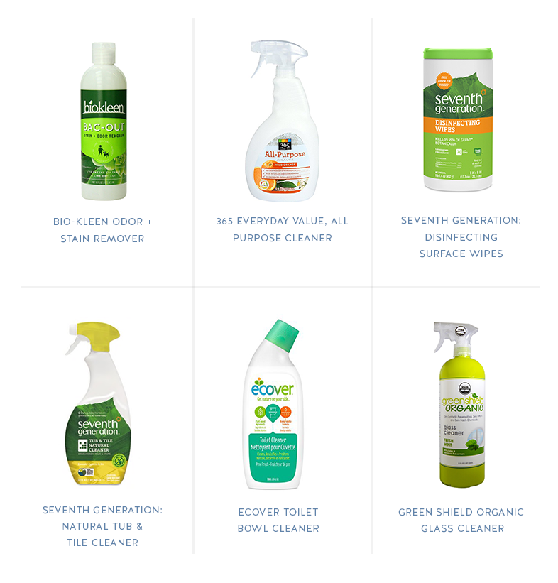 Call Me Lore's Favorite Non-Toxic Natural Cleaning Produts