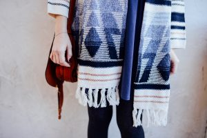 Print sweater from Neiman Marcus