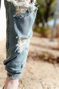 Boyfriend jeans Roll