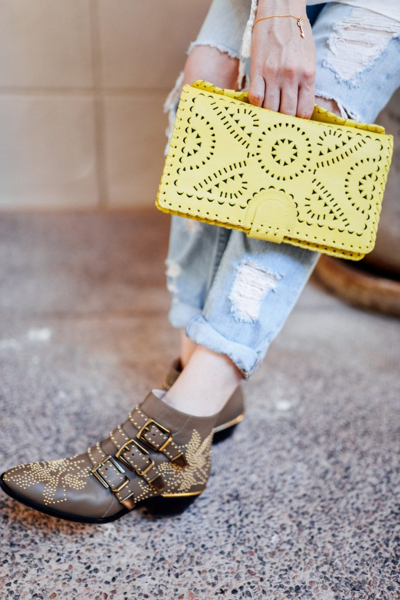 Chloe Suzanna ankle boots
