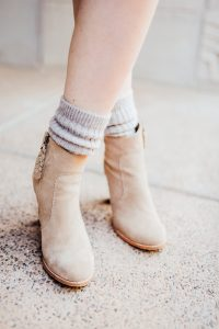 Joie booties and high socks
