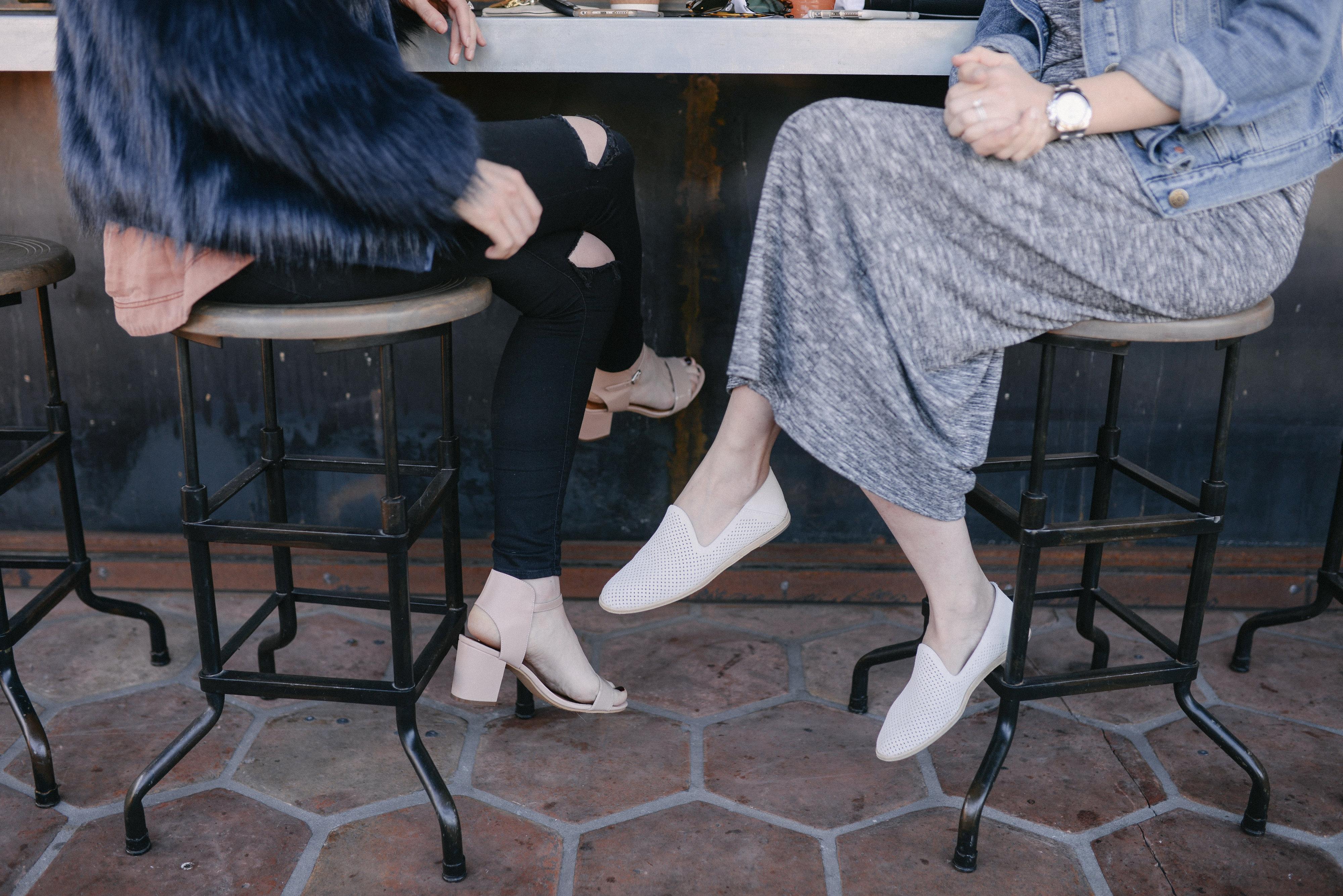 Pedro Garcia white shoes