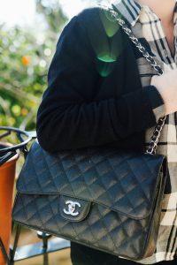 Black Chanel Classic Flap