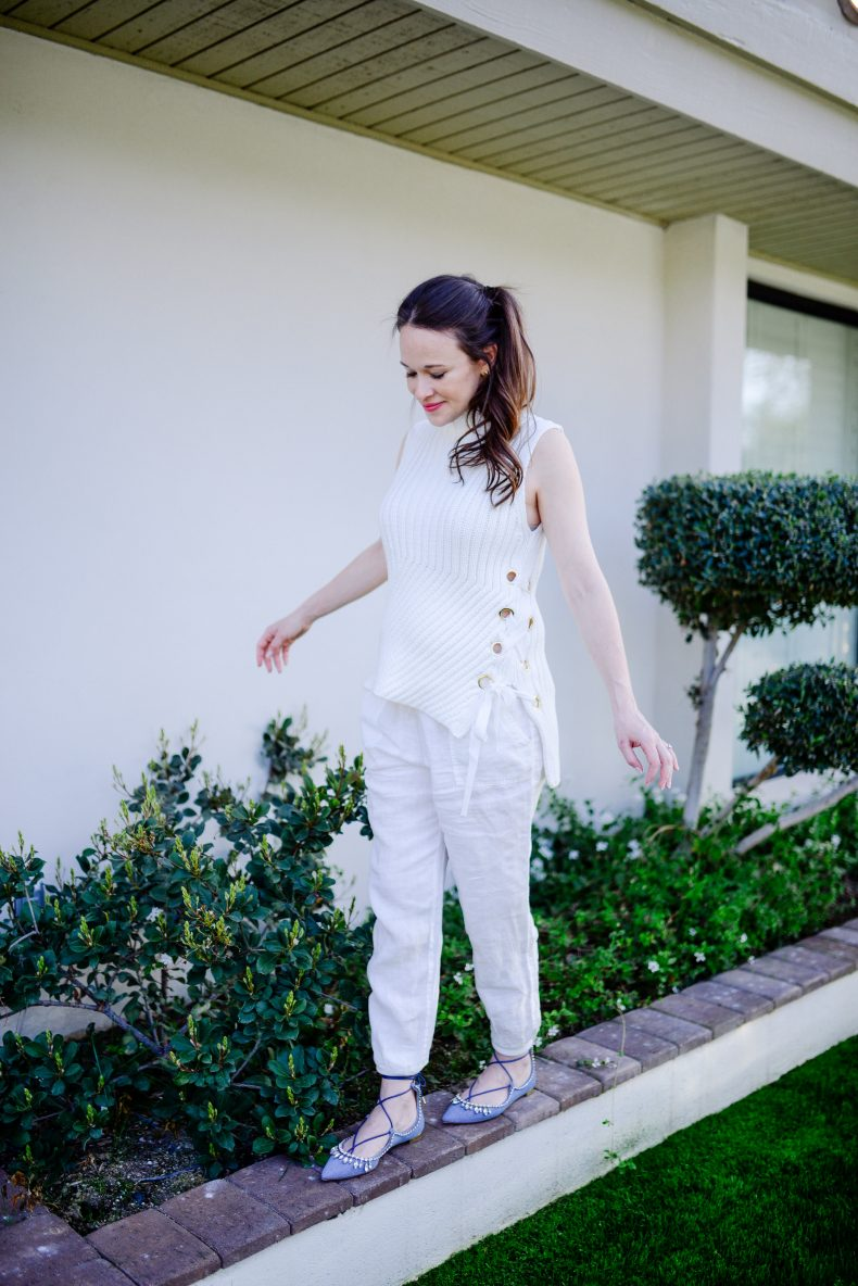 White on White Outfit -Call me Lore