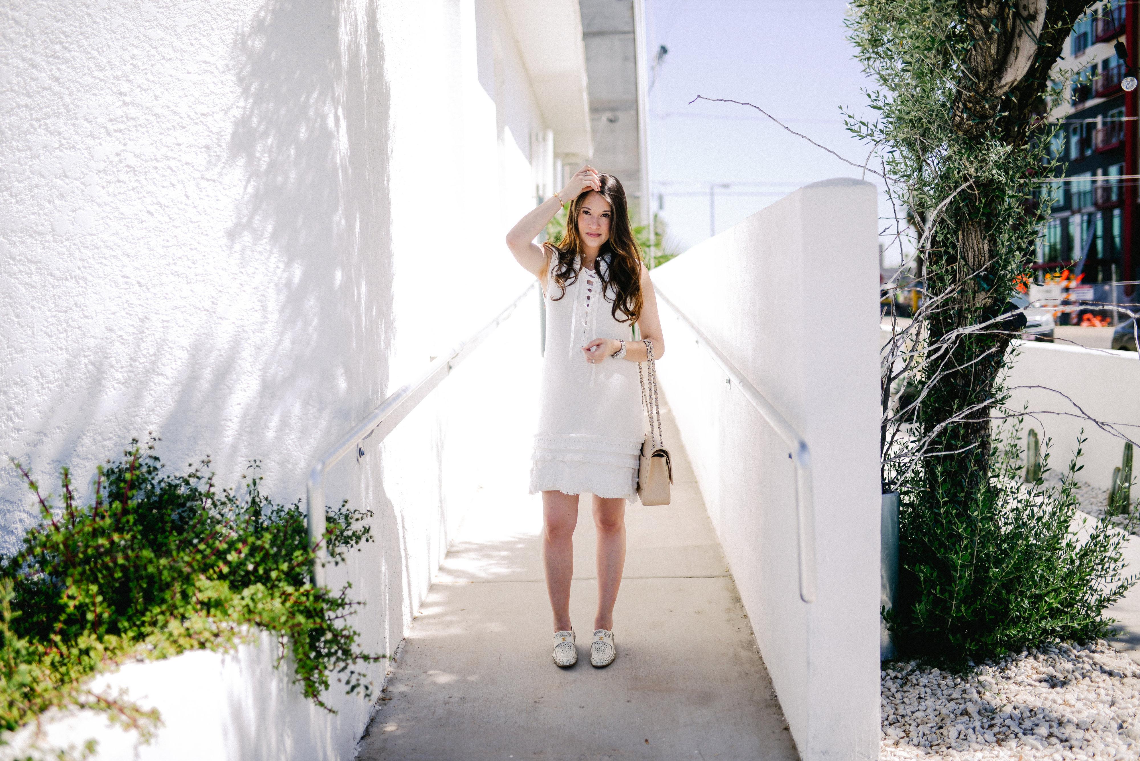 White Nanette Lepore Dress