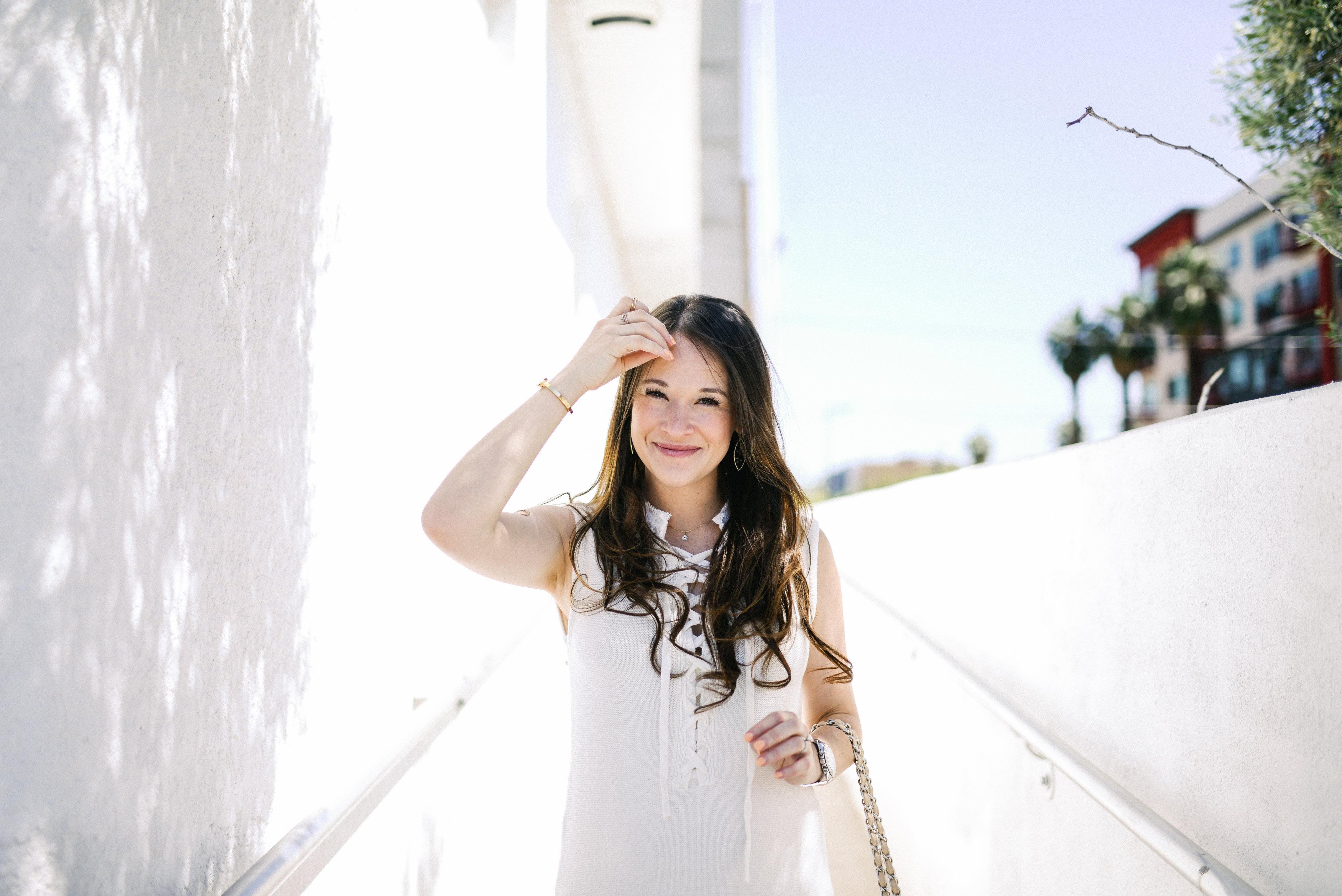 White Nanette Lepore Dress-Call me Lore