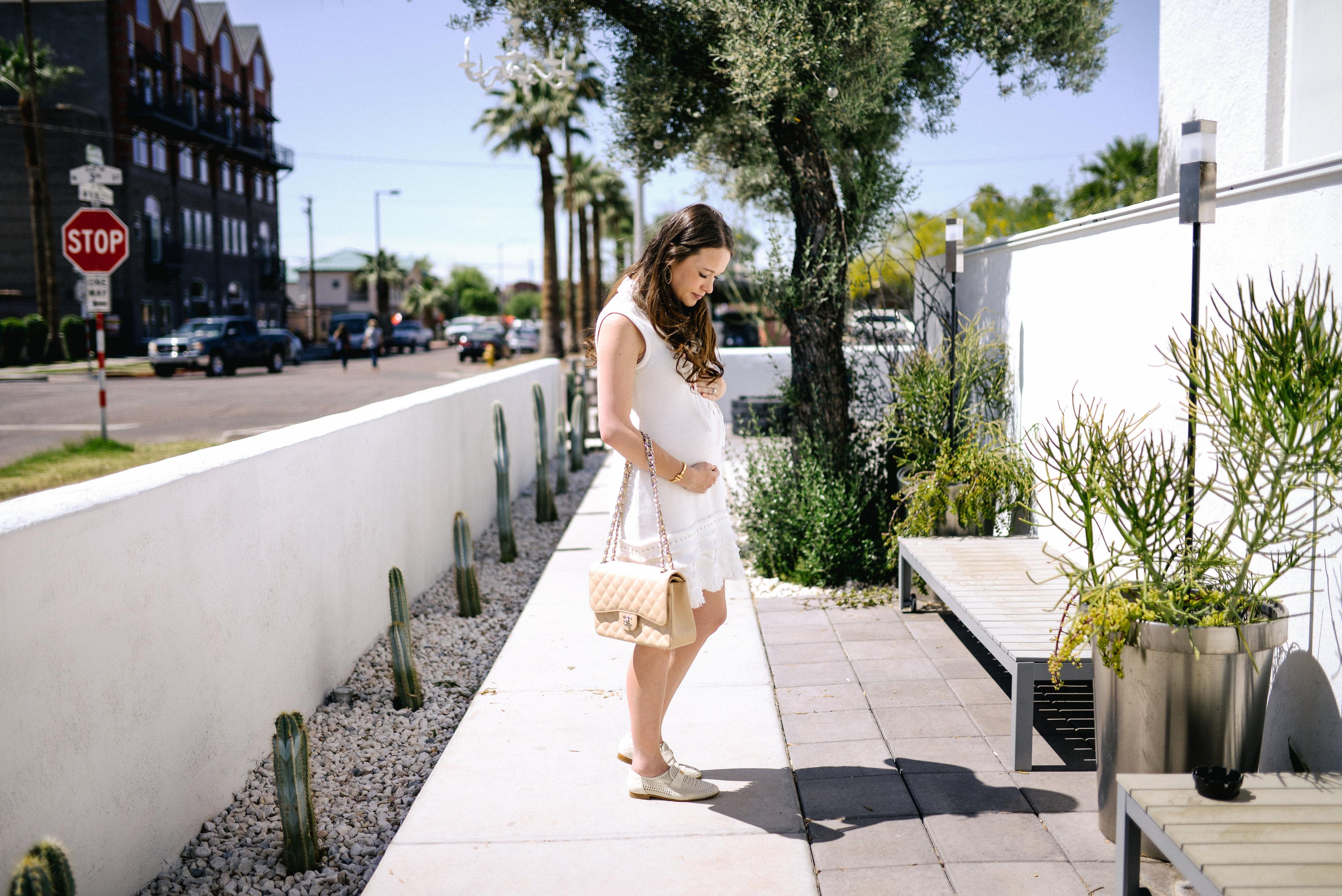 Nanette Lepore White Dress- Call me Lore