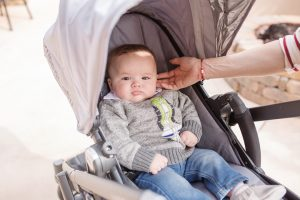 Call me Lore using Uppa Baby Vista Stroller