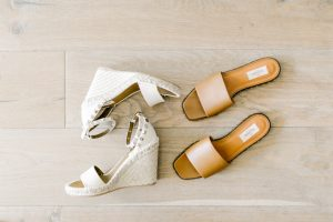 Call me Lore's Shoe pick of teh Month: Valentino White wedges