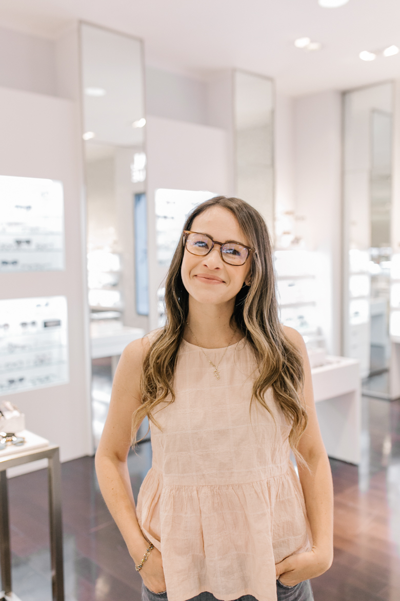 Call me Lore- My eye Exam Experience with Saks
