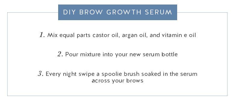Call Me Lore's DIY Brow Growth Serum