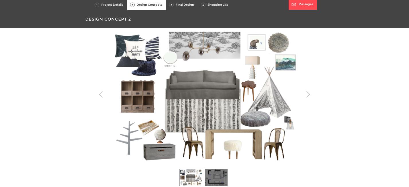 Call Me Lore Playroom Design with Decorist Interior Design