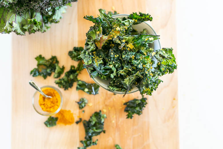 Call Me Lore's Healthy Easy Dehydrated Food Recipes Healthy Snacks for Kids Homemade Turmeric Kale Chips