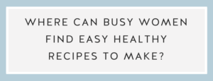 Where to Find Easy Healthy Anti Inflammatory Recipes to Make with Call Me Lore and Chef Niki Connor