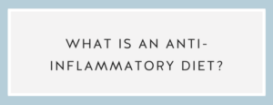 What is an anti inflammatory diet? Call Me Lore & Chef Niki Connor Anti-Inflammatory Diet
